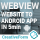 WebView Android Template App