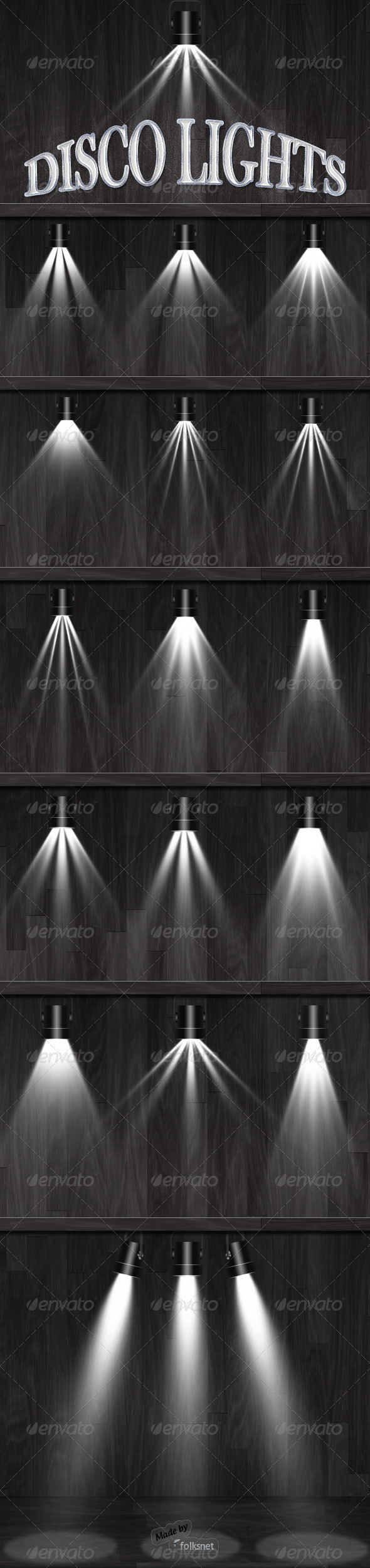 Disco Lights - Miscellaneous Graphics