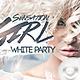 Flyer Sensation Girl White Party