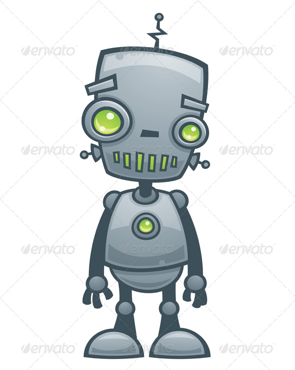 GraphicRiver Happy Robot 153274