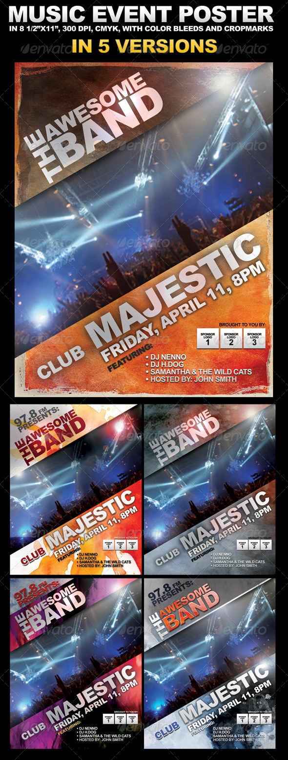 Event Poster - Clubs & Parties Events