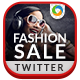 Fashion Sale Twitter Header