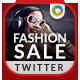 Fashion Sale Twitter Header