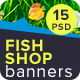 Fish Shop Banners
