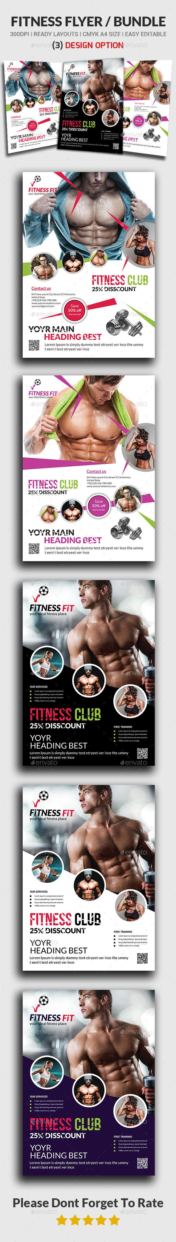 Fitness Flyer Bundle
