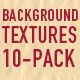 BACKGROUND TEXTURES 10-PACK - GraphicRiver Item for Sale