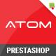 Atom - Responsive Multipurpose Prestashop Theme