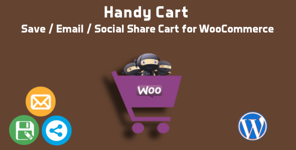 Download Handy Cart - Save Email Share Cart for WooCommerce nulled download