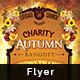 Charity Autumn Banquet Flyer