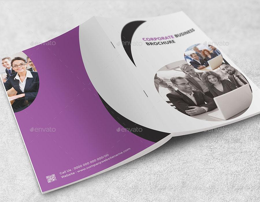 Corporate Business Bi-Fold Brochure Vol.01