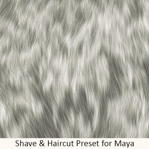 Shave Soft Dog Fur - 3DOcean Item for Sale