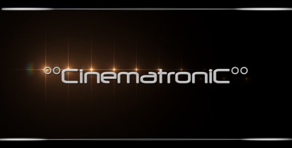 After Effects Project - VideoHive Cinematronic 153434