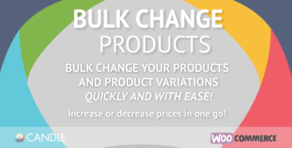 Bulk Change Products