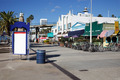 Shops behind Santa Monica Pier - PhotoDune Item for Sale