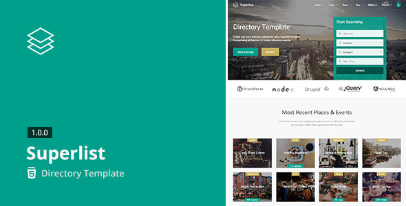9. Superlist - Directory Template