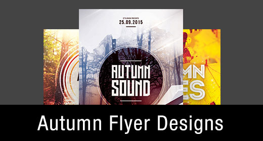 * Autumn Flyer Templates