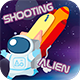 Shooting Alien. Corona SDK. Android/IOS.