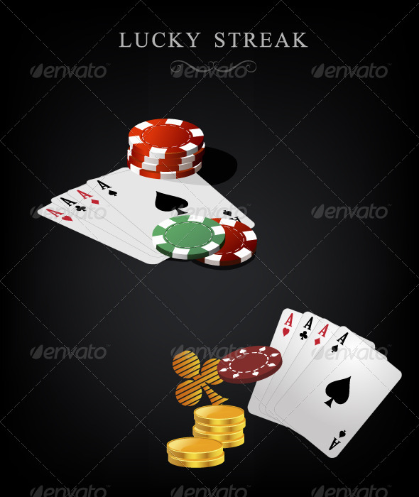 GraphicRiver Gambling objects 153550