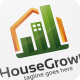 House Growth / Graph - Logo Template