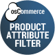 Product Attribute Filter for osCommerce