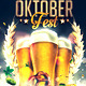 Oktoberfest Party Flyer and Facebook Cover