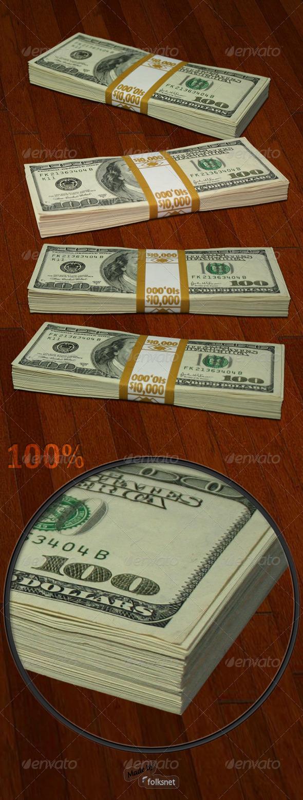 GraphicRiver Money Packs 136799