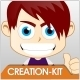 Chibi Mascot Creation Kit - For General Business - GraphicRiver Item for Sale