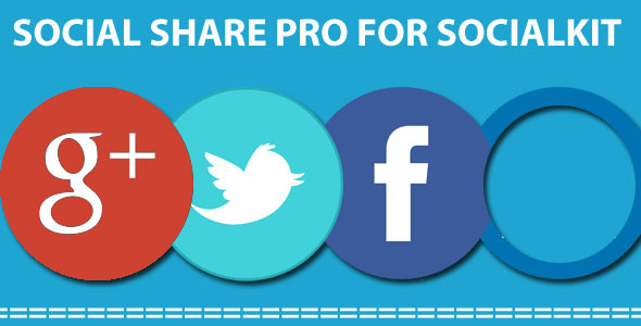 Social share PRO for Socialkit
