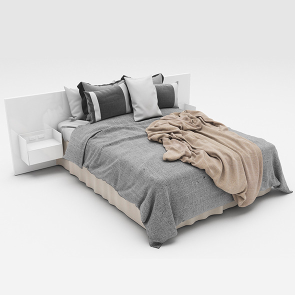 Bed 41  - 3DOcean Item for Sale