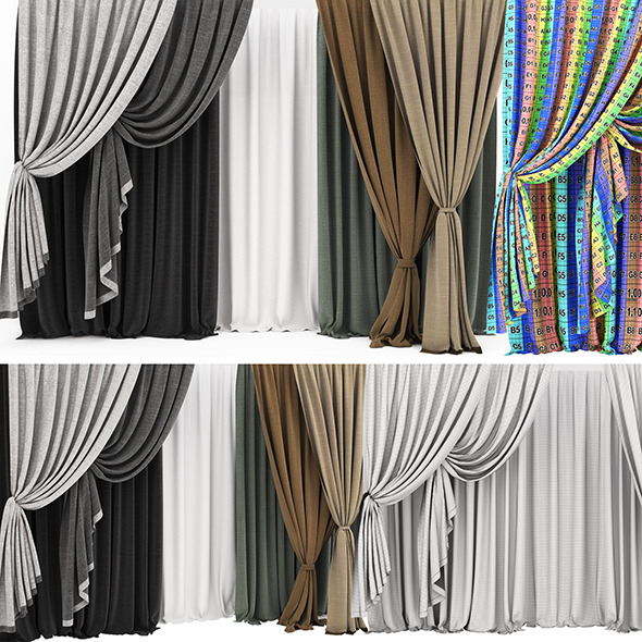Curtain 11  - 3DOcean Item for Sale
