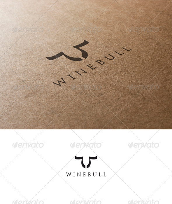 Bull and Wine Logo