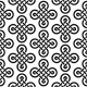 Celtic Irish Knots Seamless Vector Pattern