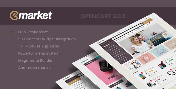 Lexus EMarket - Creative Opencart Themes