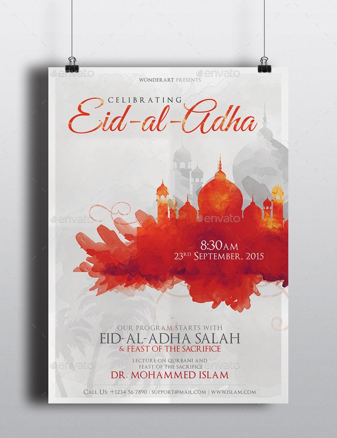 eid flyer by wonderart