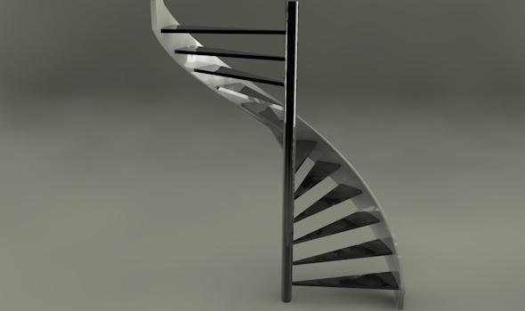 3DOcean Helix stair case 1276571