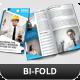 Creative Corporate Bi-Fold Brochure Vol 35