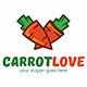 Carrot Love Logo Template