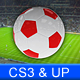 On Air Soccer Graphic