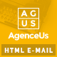 AgenceUs - Responsive Email + StampReady Builder