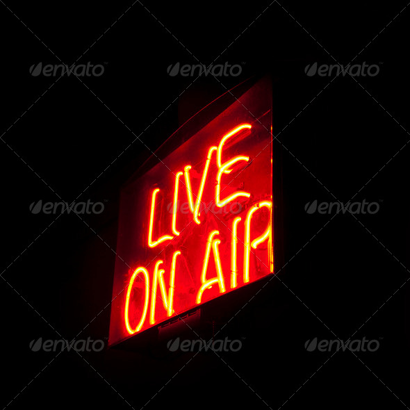 PhotoDune Live on Air neon 1277359