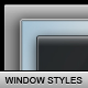 Window Styles I - GraphicRiver Item for Sale