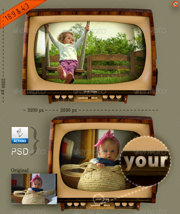 GraphicRiver Show Your Wide & Normal TV Screen 153909