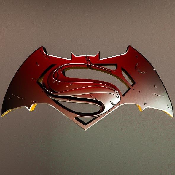 Batman v Superman - 3DOcean Item for Sale