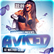 Aviced Party Flyer Template
