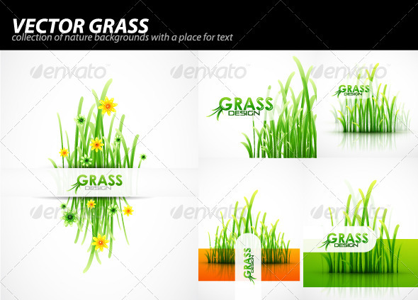 Grass background pack