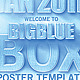 BlueBox Poster/Flyer Template - GraphicRiver Item for Sale