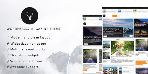Download Vaga - WordPress Magazine and Blog Theme nulled download