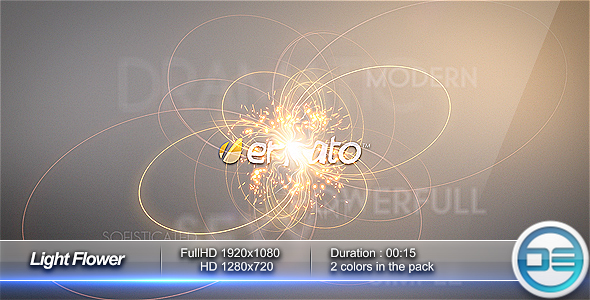 After Effects Project - VideoHive Light Flower Intro 101614
