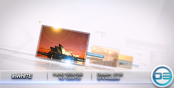After Effects Project - VideoHive InWHITE 86995