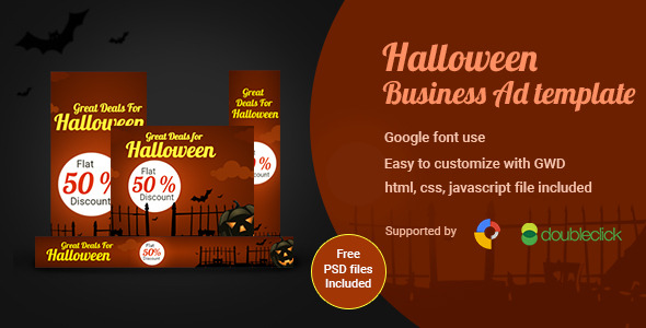 Halloween | HTML5 Google Ad Banner
